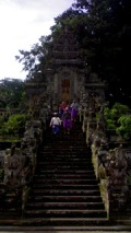 Visiting Kehen Temple - Bali Countryside Cycling Tour